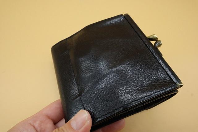 小銭入れが柔らかくなった財布