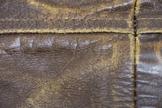 乾燥した革