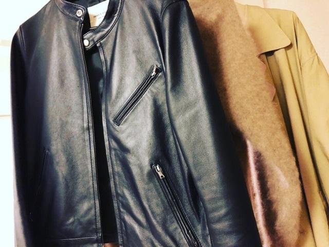 シングルのライダースジャケット